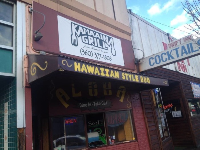 9. Passing by, Kama'Aina Grill in Bremerton may not seem as enticing…