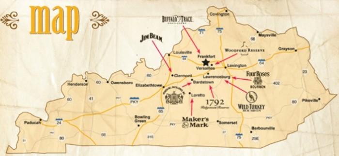 kentucky_bourbon_trail_map-700x323 Kentucky Whiskey Tour Map on scotch whisky tour map, kentucky wine trail passport, kentucky distillery tours, tennessee distilleries map, bourbon county map, bardstown ky winery map, kentucky bourbon trail passport, bourbon trail map,