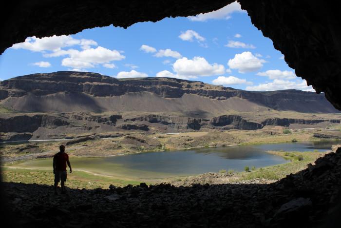 4. Lenore Lake Caves, Soap Lake area