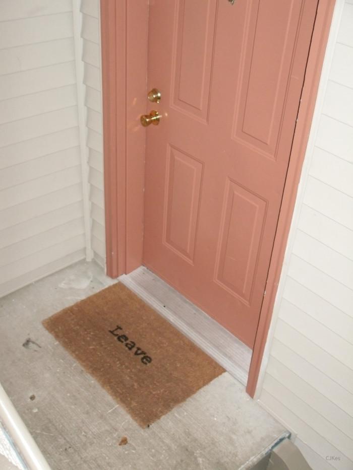 10. Every Washingtonian's dream doormat.