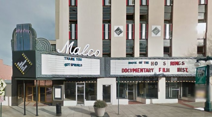5. The Malco in Hot Springs
