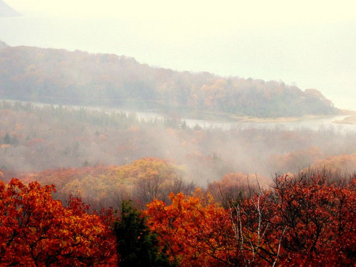 8) Unnamed Michigan mountains