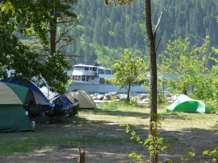 6. Moore's Point Campground