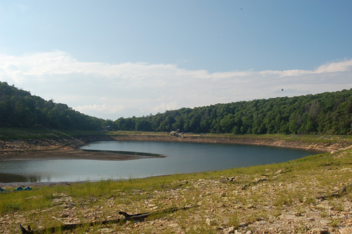 2. Speaking of Mountain Lake…that's when it still had water.