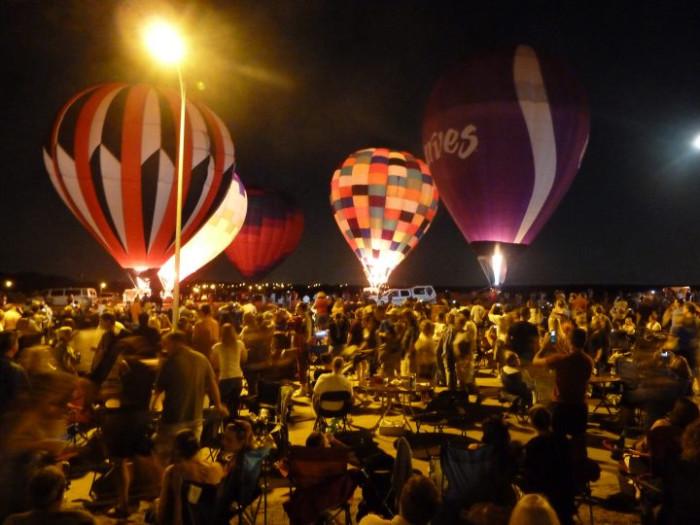 Nebraska Balloon & Wine Festival, Omaha