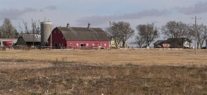 Nelson Farm, a working historic farm in Merrick County