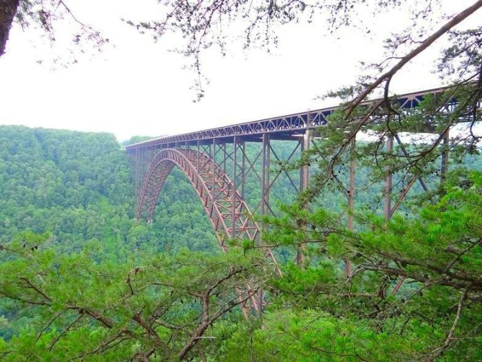 15. The New River Gorge Bridge