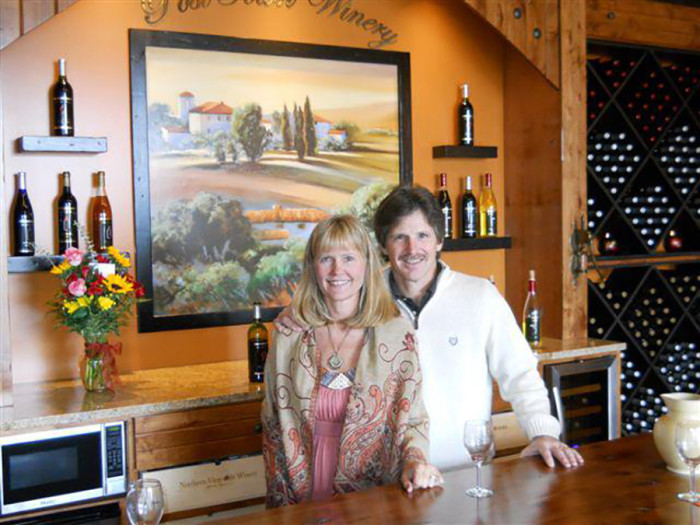 5. Post Town Winery in Rochester is an adorable family winery with wine tasting every weekend.