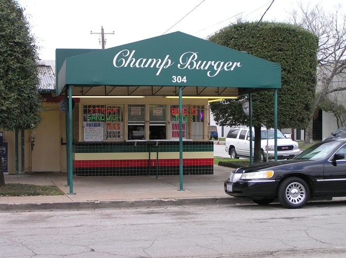 10) Champ Burger (Houston)