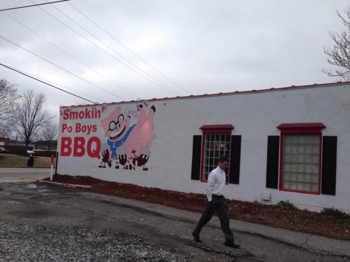 4) Smokin PO Boys BBQ- 67 W Athens St, Winder, GA 30680