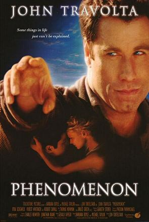 7. Phenomenon: John Travolta starred in this 1996 movie that was mostly filmed in California and Tulsa.