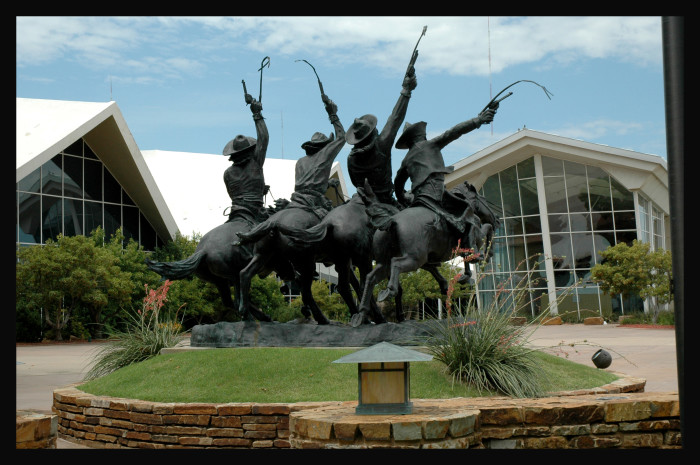 4. Preserving the history and culture of the American west, The National Cowboy and Western Heritage Museum sits in Oklahoma City.
