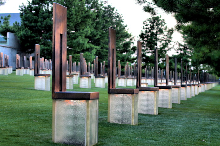 2. Oklahoma City National Memorial is a memorial site for all the victims affected by the Oklahoma City bombing in 1995.