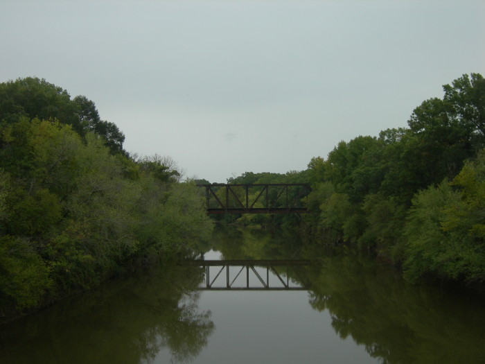 4. The only river in Oklahoma that flows north is the Poteau River.