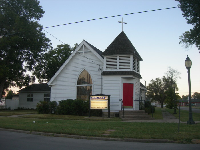 2. St. James Episcopal Church, Wagoner, OK