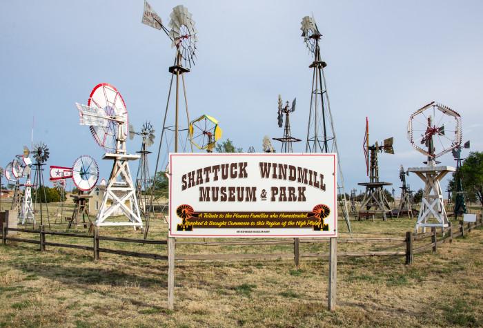 4. Shattuck Windmill Museum & Park