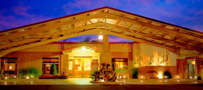 9. The Canebrake-On the shores of Gibson Lake in Wagoner sits this eco-friendly resort. Let nature relax you or participate in a yoga class together.