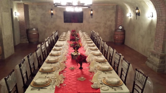 8. Clauren Ridge Vineyard and Winery-Visit Oklahoma's exclusive wine cave for a one-of-a-kind wine tasting dinner.  Feel like you are in Italy while drinking wine straight from the vineyard.