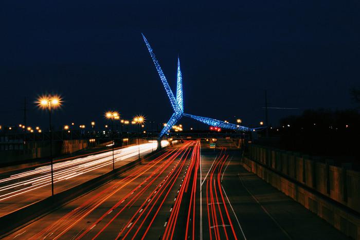 1. The OKC Skydance Bridge