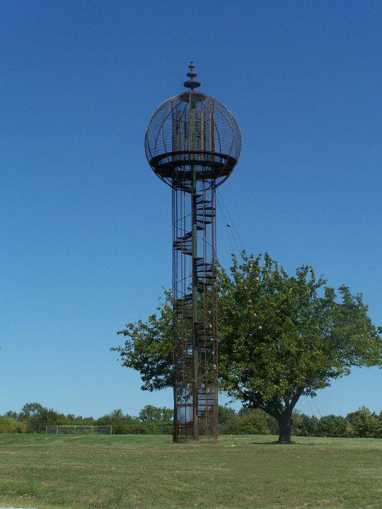 4. Sooner Park's Play Tower