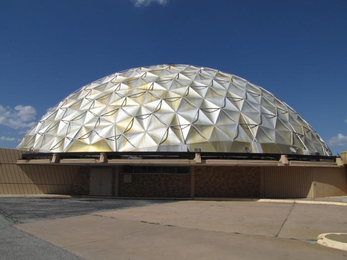 7. Oklahoma City Gold Dome