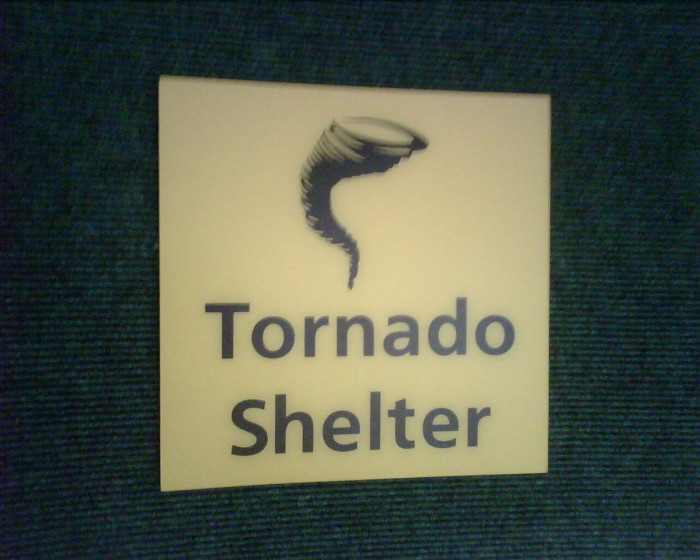 8. Tornado Shelter- Unfortunately, many Oklahomans have lost their lives because they did not have a tornado shelter.  Even if your home doesn't have one, make preparations ahead of time to get to one nearby.