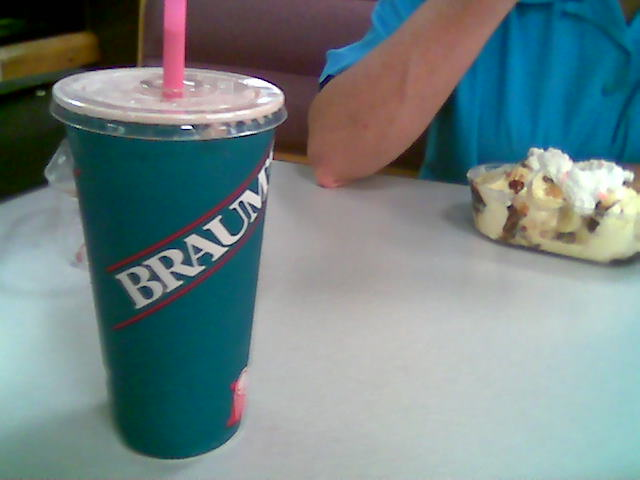 3. Had a Braums ice cream cone or shake.