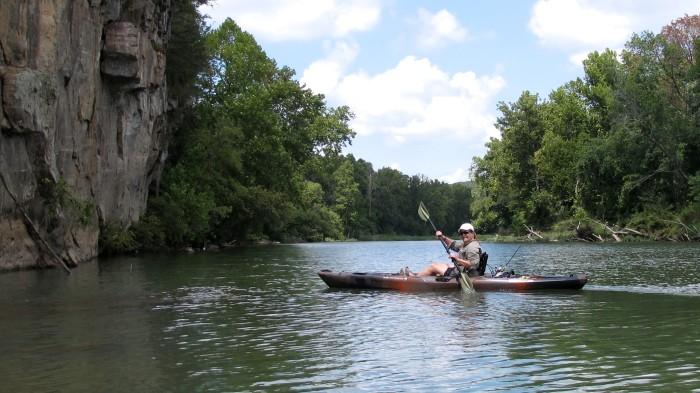 11. Taken a float trip down the Illinois River.