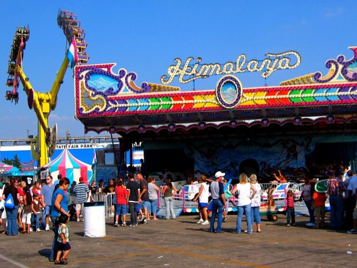 1. Attended the Oklahoma/Tulsa State Fair.
