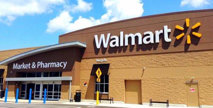 4. Taken a leisure trip to Walmart.
