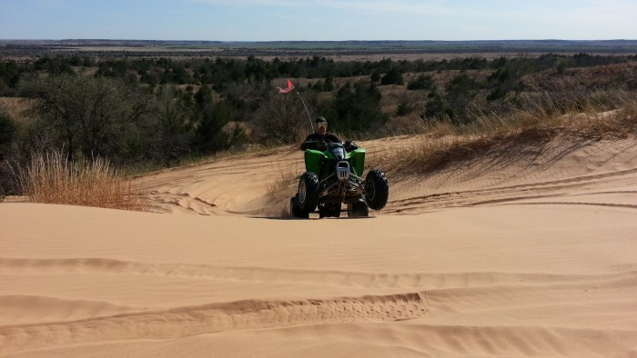 1. Little Sahara Park: Red Carpet Country (Northwest)