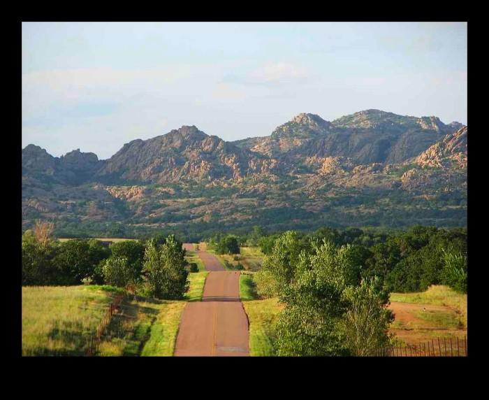 8. Oklahoma is not all flat prairie land.