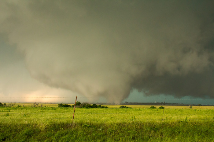 5. Most of us have not been in a tornado...unless you live in Moore.