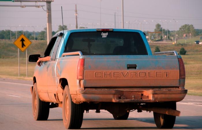 1. We don't all drive pick-up trucks.