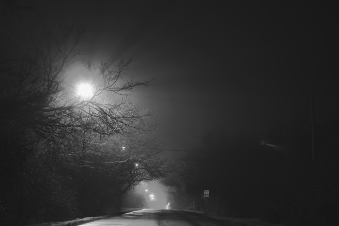 4. A dark and mysterious night in Enid.