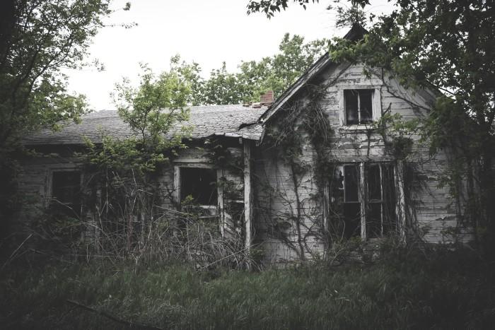 5. Abandoned, yet full of history.