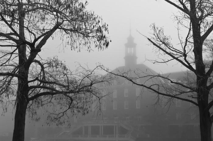 9. Oklahoma State University looking a little gloomy.