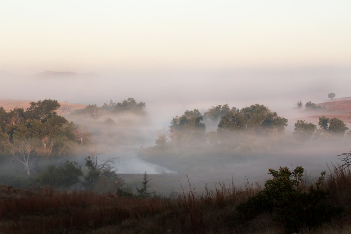 10. A perfect moment in Wichita Mountains.