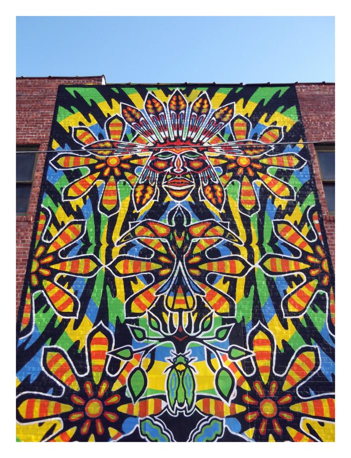8. Tulsa Street Art...Maybe Tiki Man?
