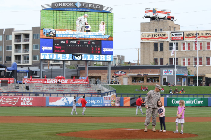 11. Attend the Tulsa Drillers game and stay for the fireworks show after.