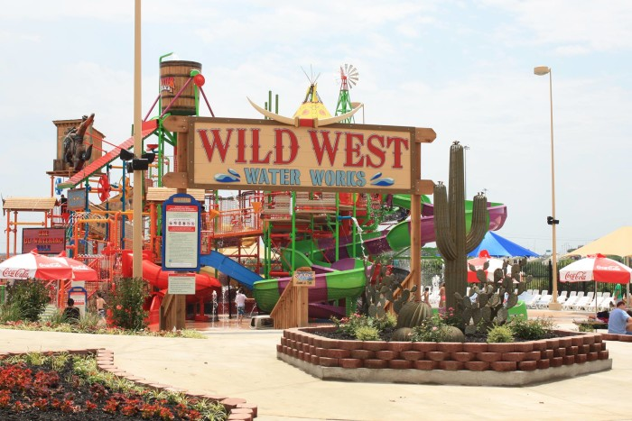 7. Go to Frontier City in Oklahoma City and enjoy all the thrill rides, Wild West Water Park and stay to watch the fireworks show.