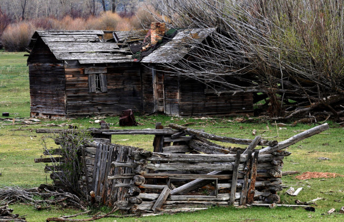 8) Old Homestead, Near Duchesne river