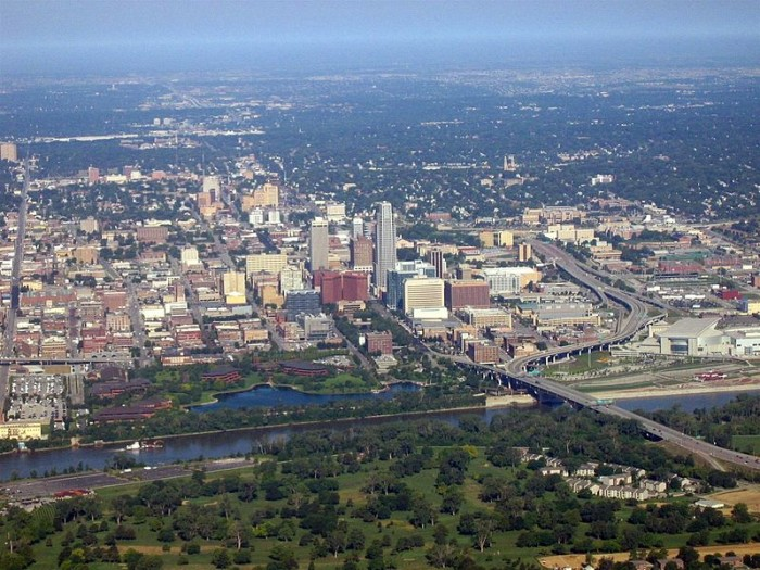Omaha From the Air