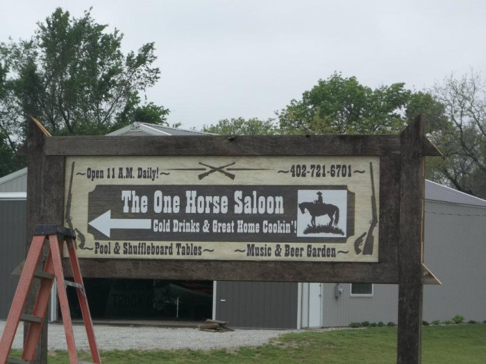 The One Horse Saloon and Grill, Nickerson