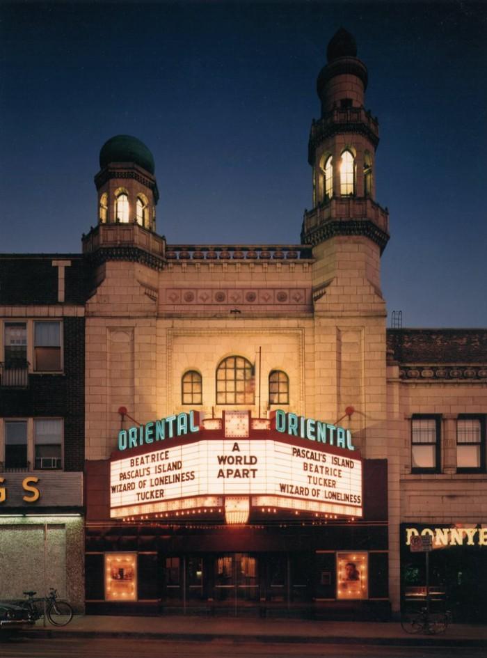 3. Oriental Theatre (Milwaukee)