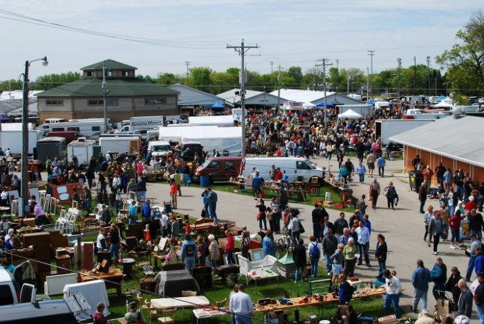 6. Elkhorn Antique Flea Market