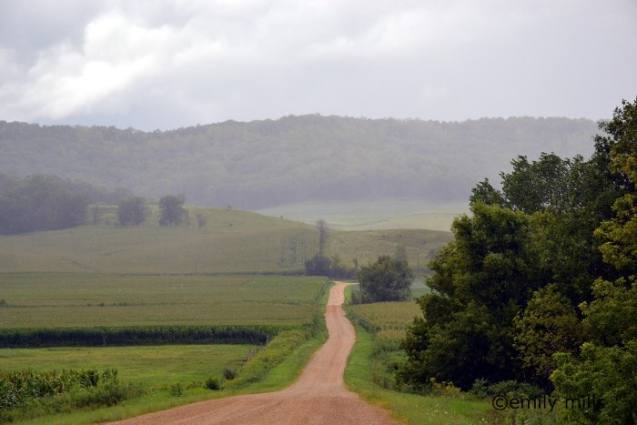 4. If you need to de-stress, just take a drive down a country road.
