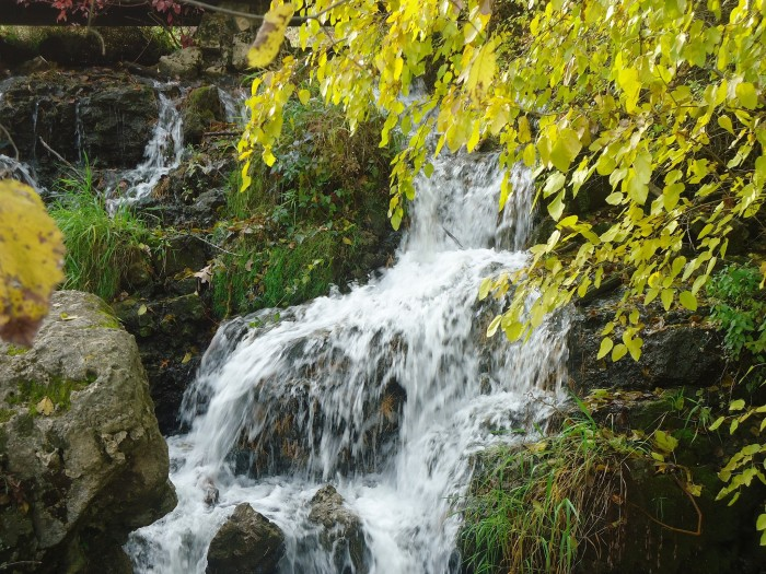 8. What is more calming than a waterfall?