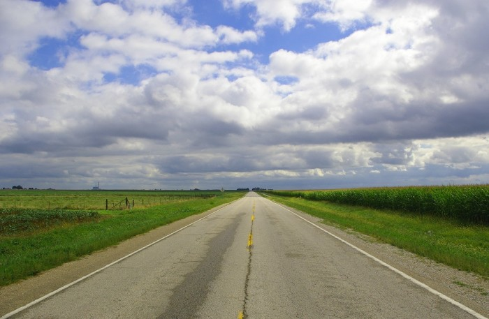5. You can always drive down a country road.