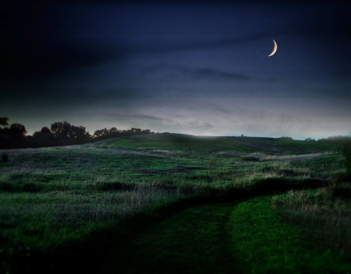 10. Nothing is more serene than nighttime in the country.